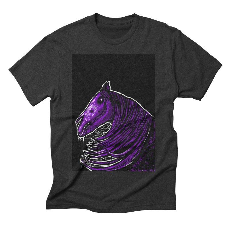 DARK HORSE Men's Triblend T-Shirt by Eyeless's Artist Shop