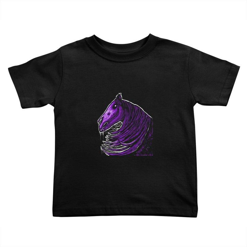 DARK HORSE Kids Toddler T-Shirt by Eyeless's Artist Shop
