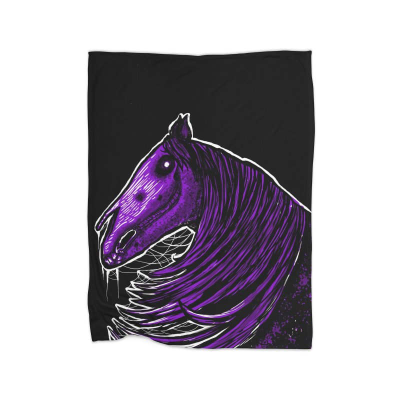 DARK HORSE Home Blanket by Eyeless's Artist Shop