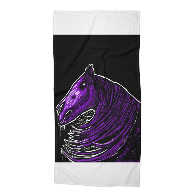 DARK HORSE Accessories Beach Towel by Eyeless's Artist Shop