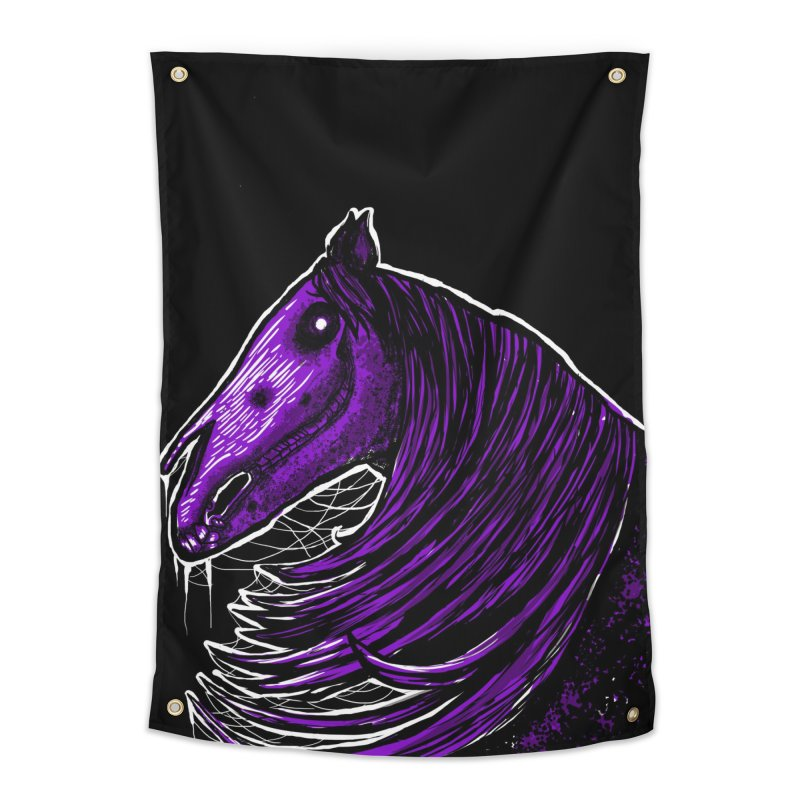 DARK HORSE Home Tapestry by Eyeless's Artist Shop