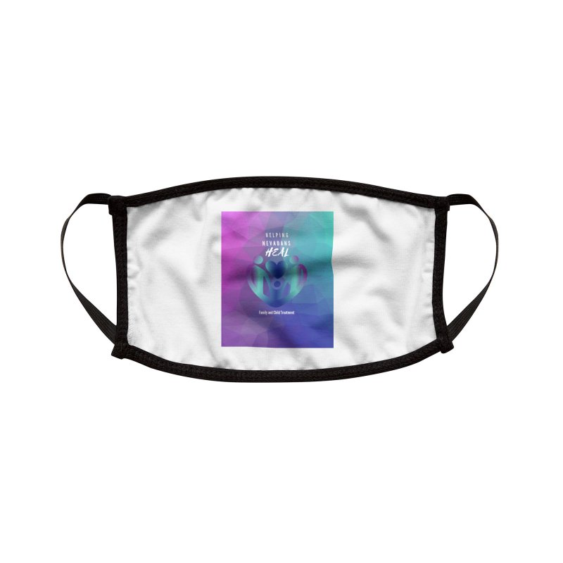Helping Nevadans Heal Awareness Colors Accessories Face Mask by Family and Child Treatment (FACT)