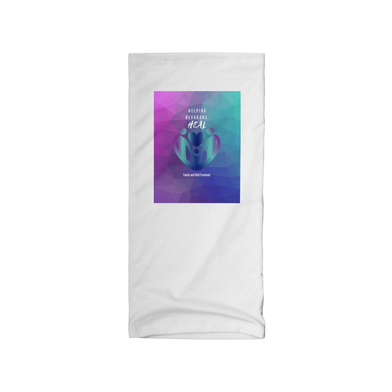 Helping Nevadans Heal Awareness Colors Accessories Neck Gaiter by Family and Child Treatment (FACT)