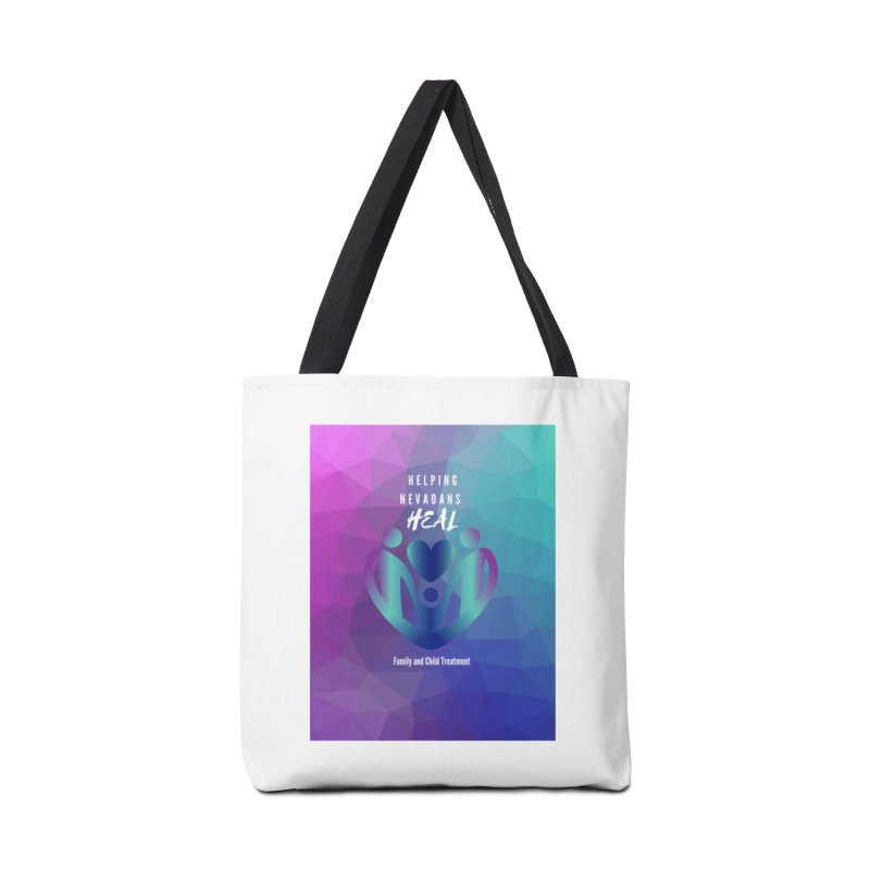 Helping Nevadans Heal Awareness Colors Accessories Bag by Family and Child Treatment (FACT)
