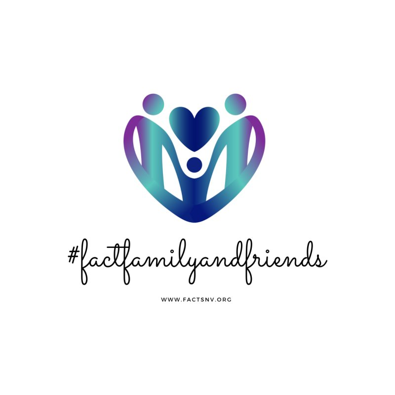 #factfamilyandfriends Women's T-Shirt by Family and Child Treatment (FACT)