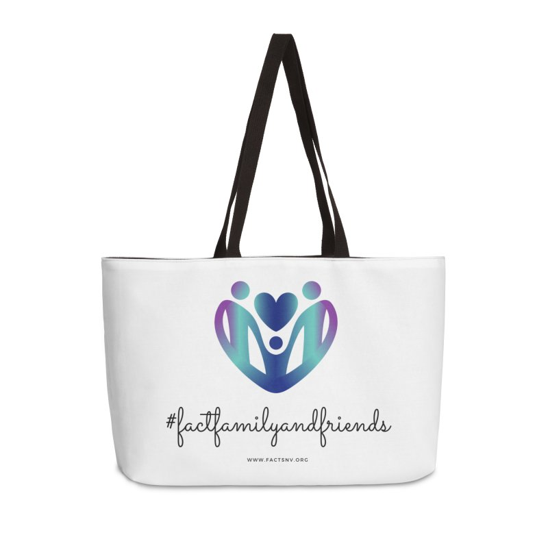#factfamilyandfriends Accessories Bag by Family and Child Treatment (FACT)