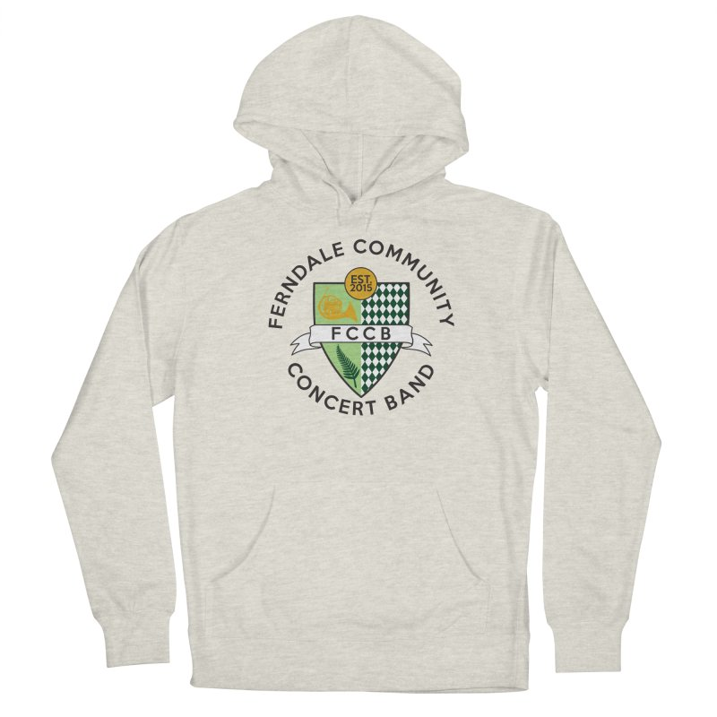 Large Crest- light styles Women's French Terry Pullover Hoody by FCConcertBand's Apparel Shop