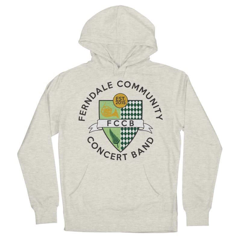 Large Crest- light styles Men's Pullover Hoody by FCConcertBand's Apparel Shop