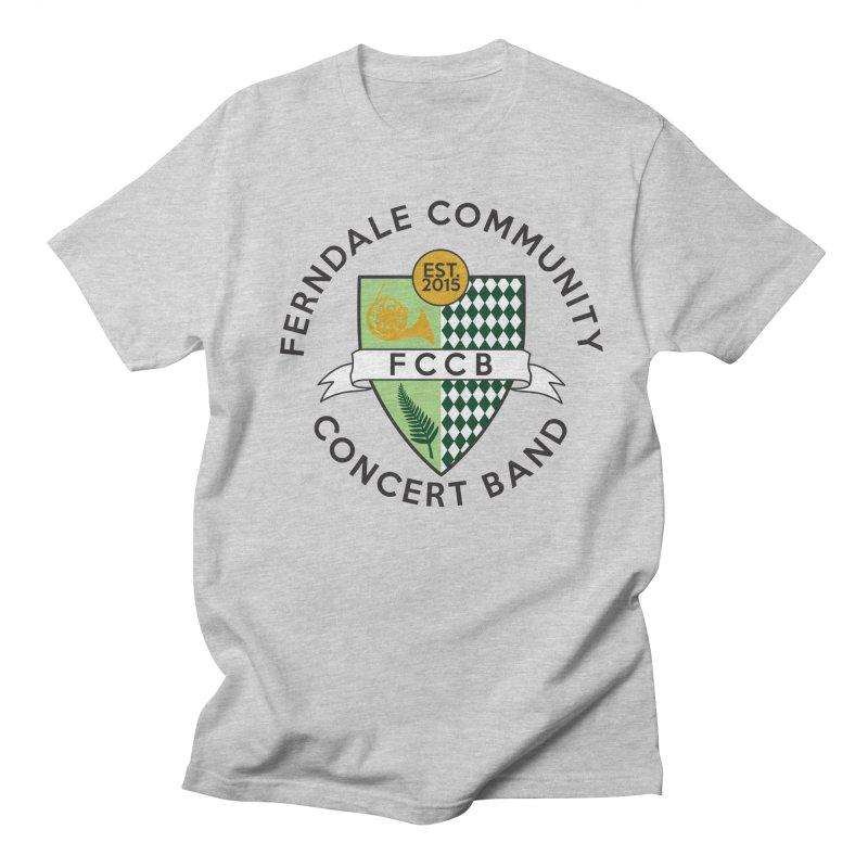 Large Crest- light styles Women's Regular Unisex T-Shirt by FCConcertBand's Apparel Shop