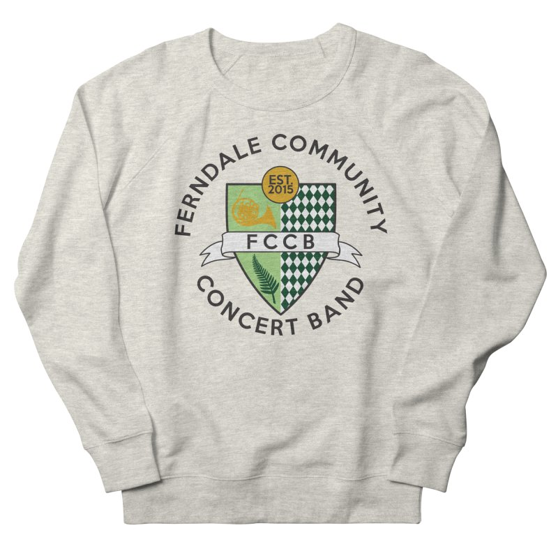 Large Crest- light styles Men's Sweatshirt by FCConcertBand's Apparel Shop