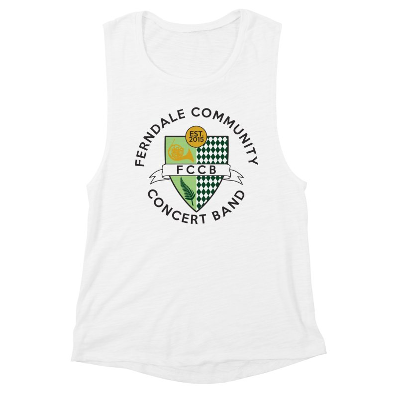 Large Crest- light styles Women's Tank by FCConcertBand's Apparel Shop