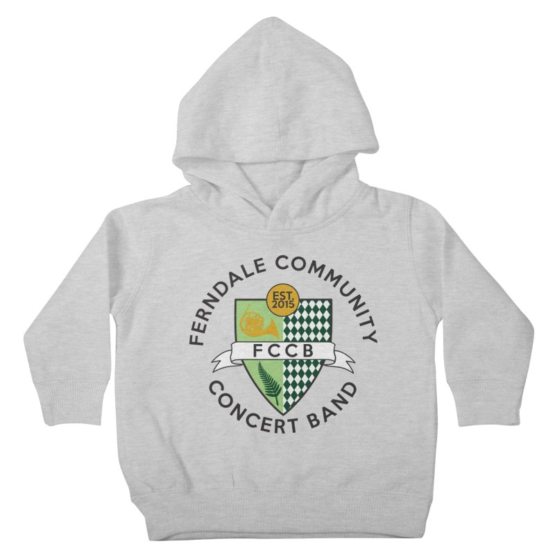 Large Crest- light styles Kids Toddler Pullover Hoody by FCConcertBand's Apparel Shop