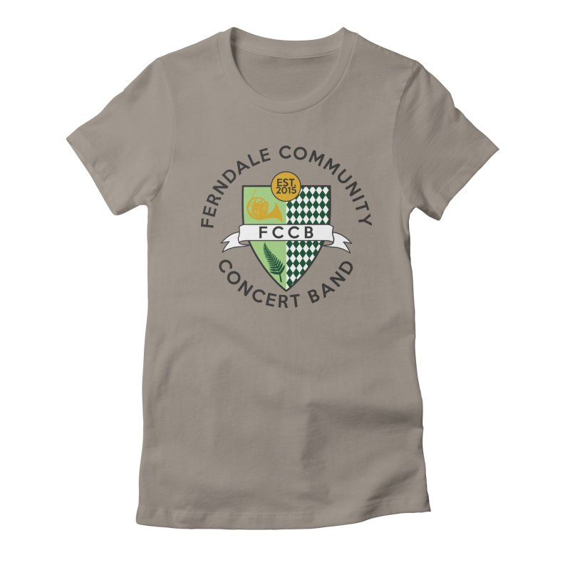 Large Crest- light styles Women's T-Shirt by FCConcertBand's Apparel Shop