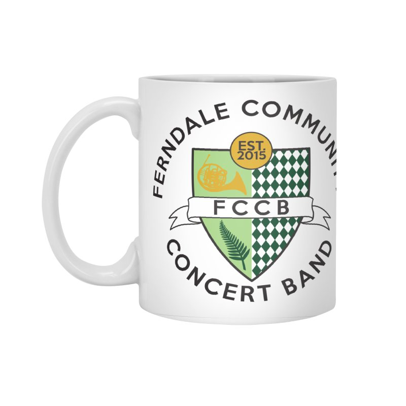 Large Crest- light styles Accessories Standard Mug by FCConcertBand's Apparel Shop
