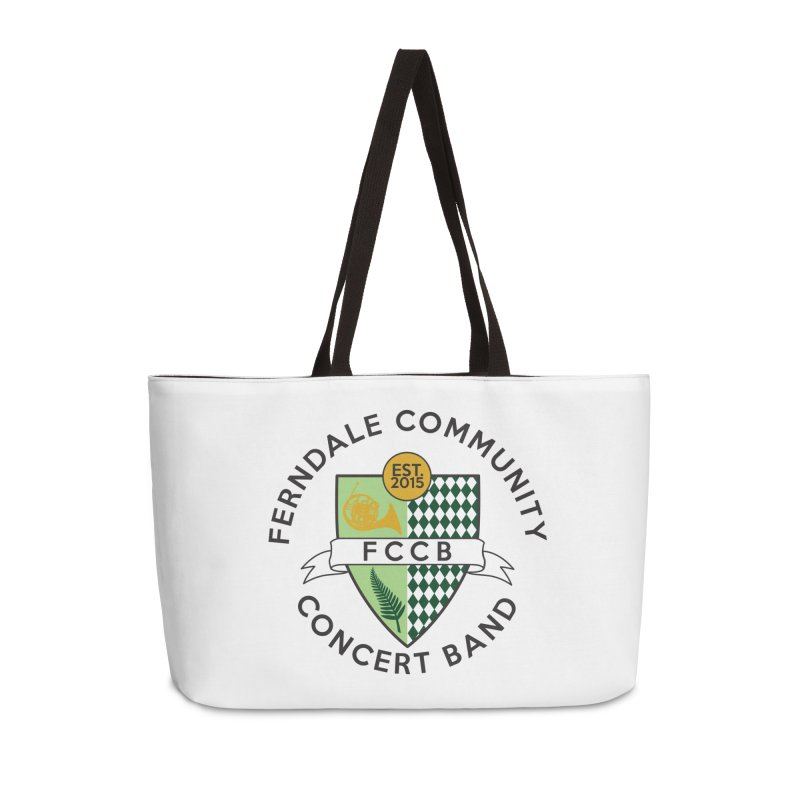 Large Crest- light styles Accessories Weekender Bag Bag by FCConcertBand's Apparel Shop