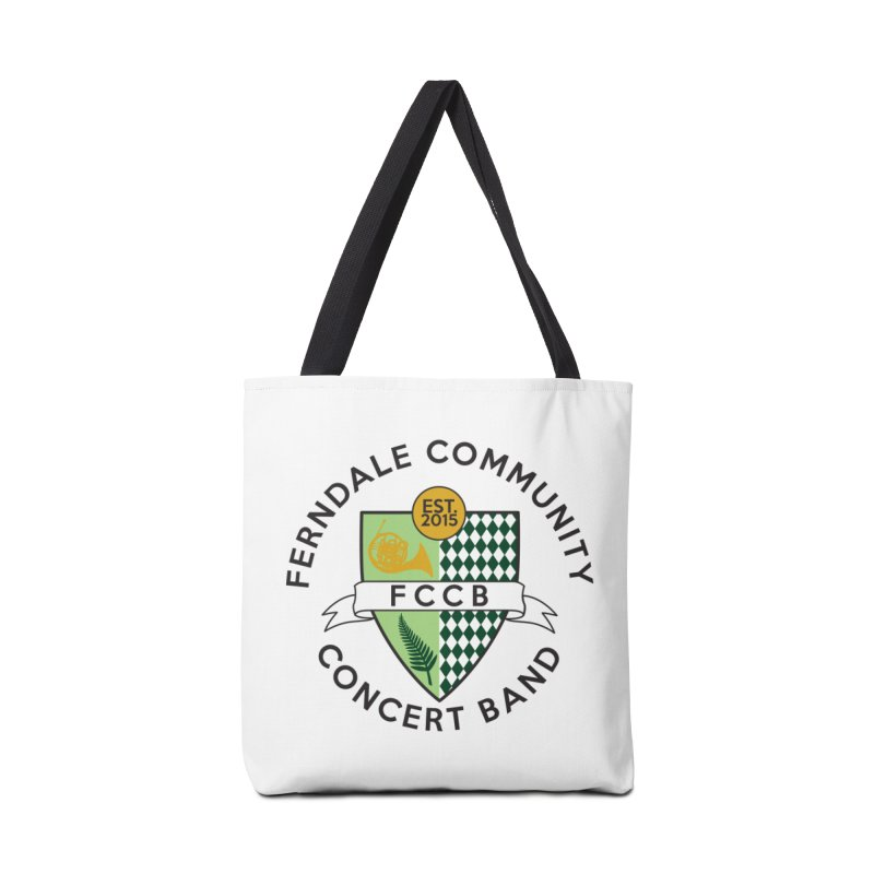 Large Crest- light styles Accessories Tote Bag Bag by FCConcertBand's Apparel Shop