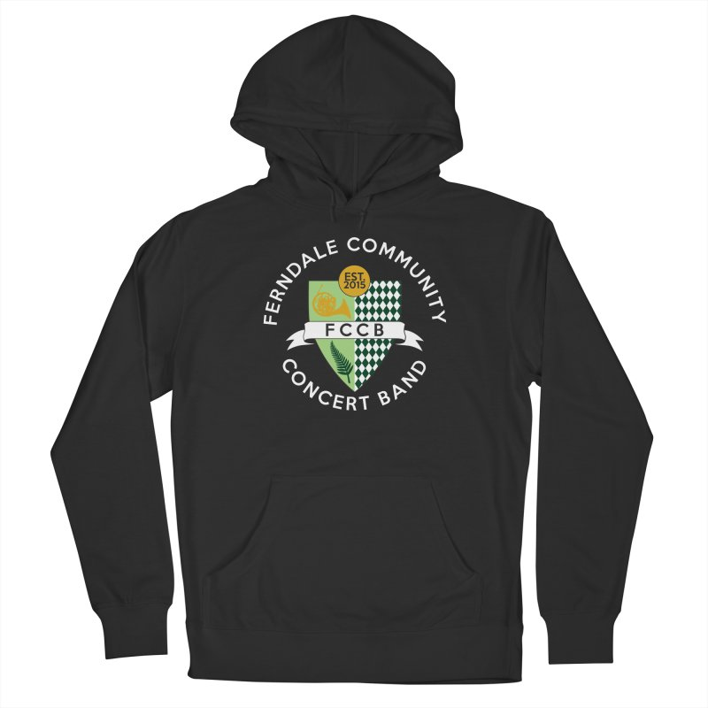 Large Crest- dark styles Women's French Terry Pullover Hoody by FCConcertBand's Apparel Shop