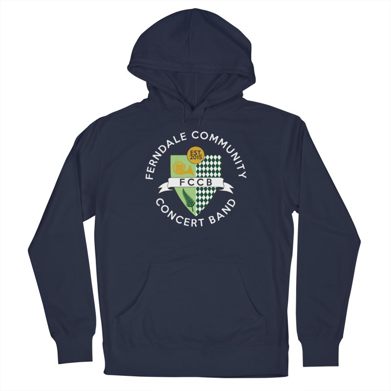Large Crest- dark styles Men's Pullover Hoody by FCConcertBand's Apparel Shop