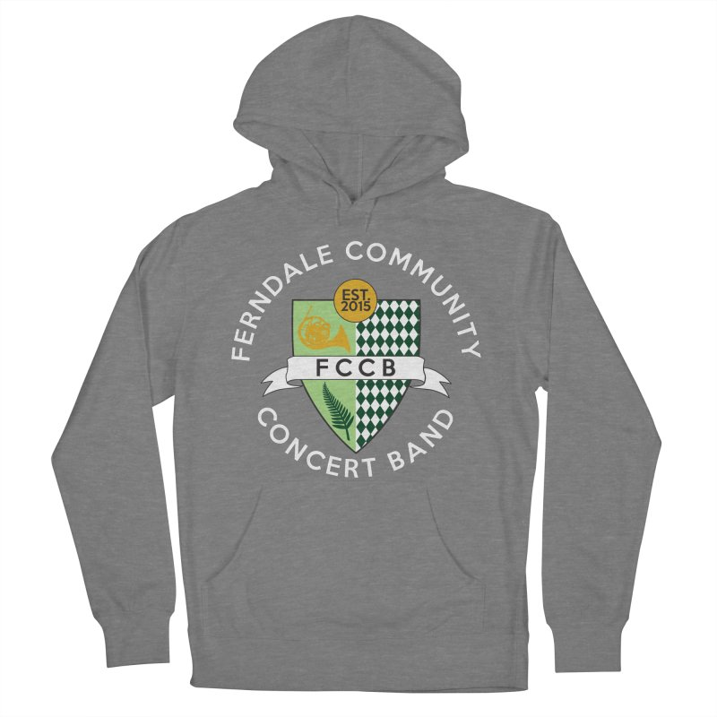 Large Crest- dark styles Women's Pullover Hoody by FCConcertBand's Apparel Shop