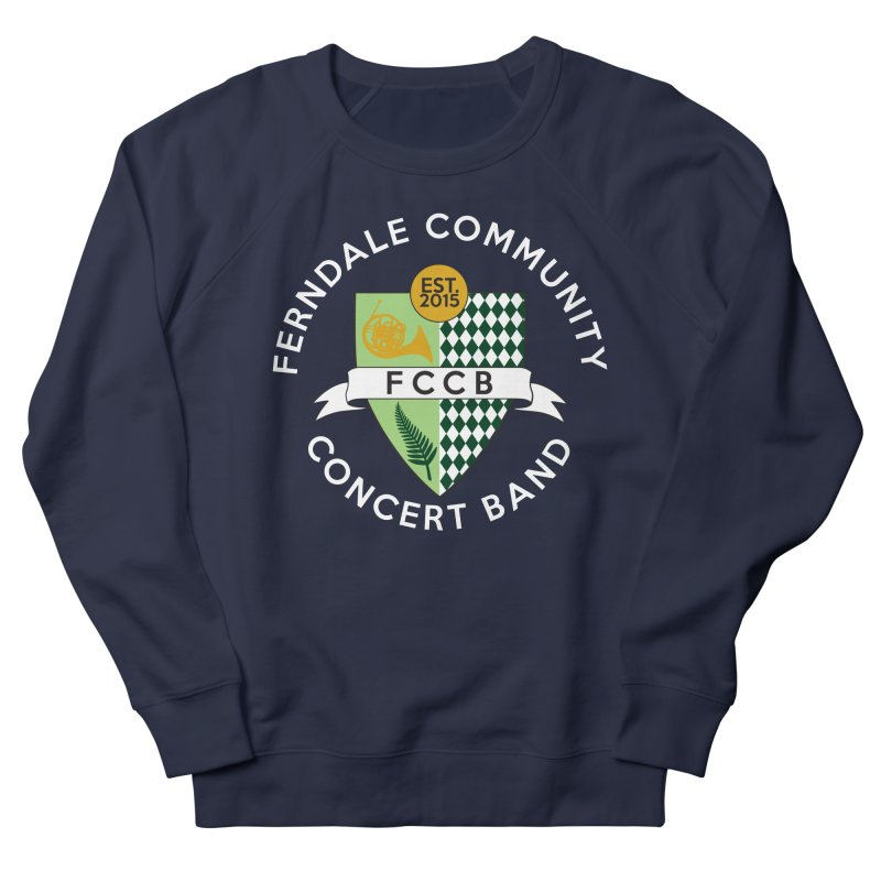 Large Crest- dark styles Women's French Terry Sweatshirt by FCConcertBand's Apparel Shop