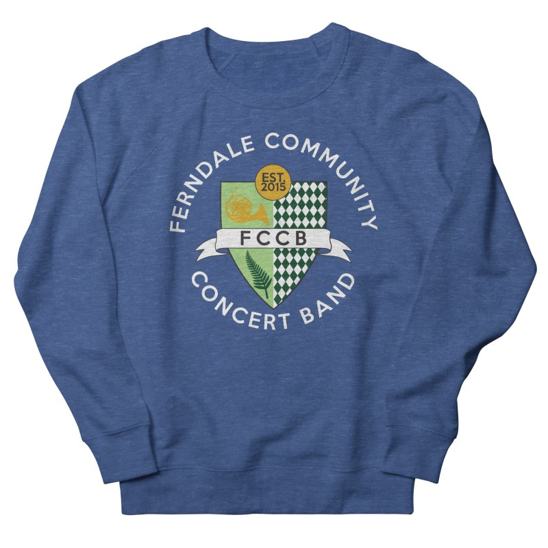 Large Crest- dark styles Men's Sweatshirt by FCConcertBand's Apparel Shop