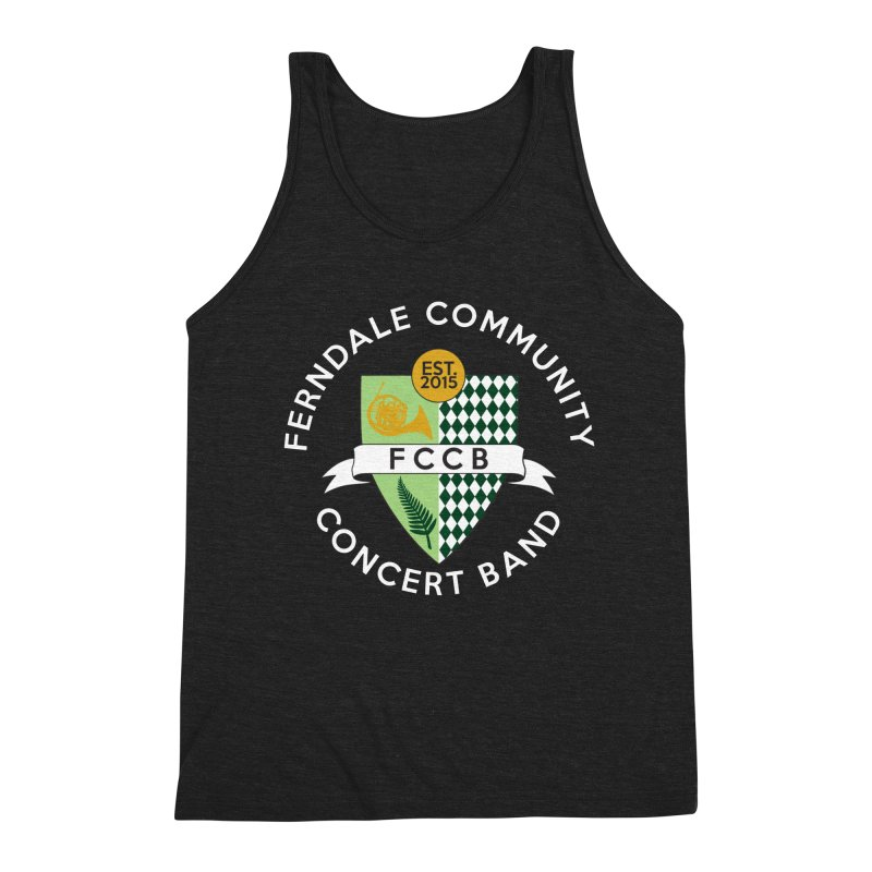 Large Crest- dark styles Men's Tank by FCConcertBand's Apparel Shop