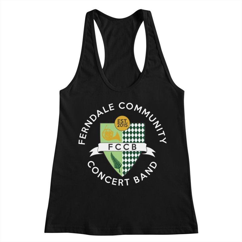 Large Crest- dark styles Women's Tank by FCConcertBand's Apparel Shop