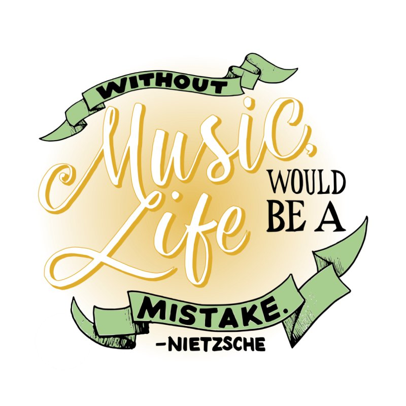 Music and Life by FCConcertBand's Apparel Shop