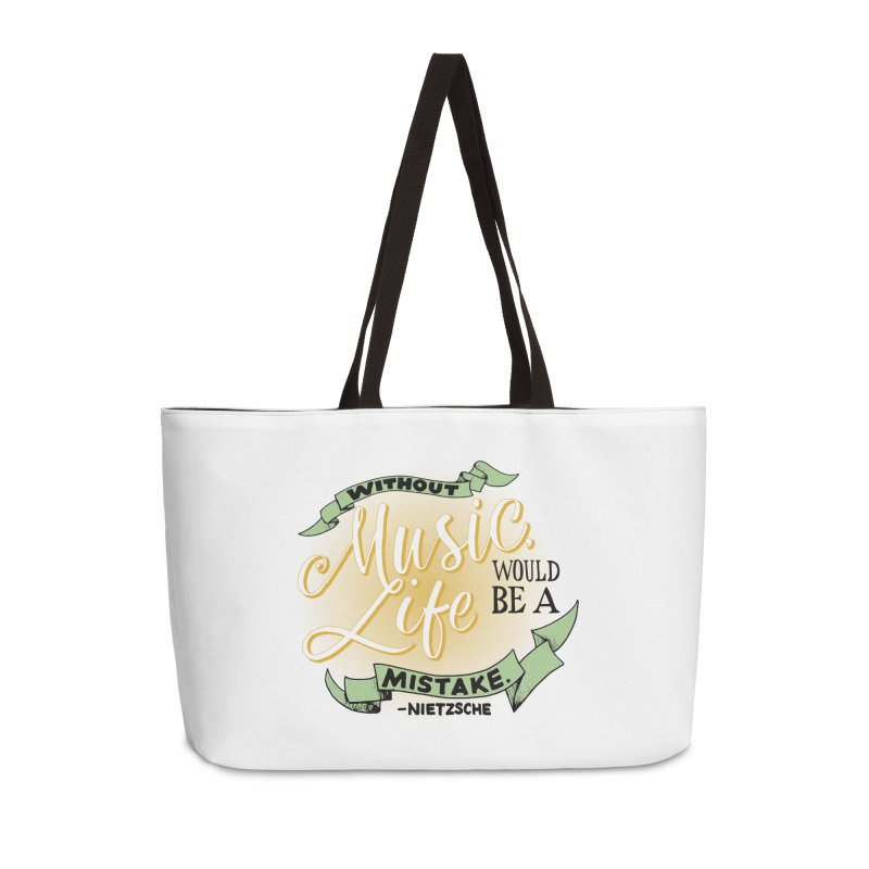 Music and Life Accessories Bag by FCConcertBand's Apparel Shop