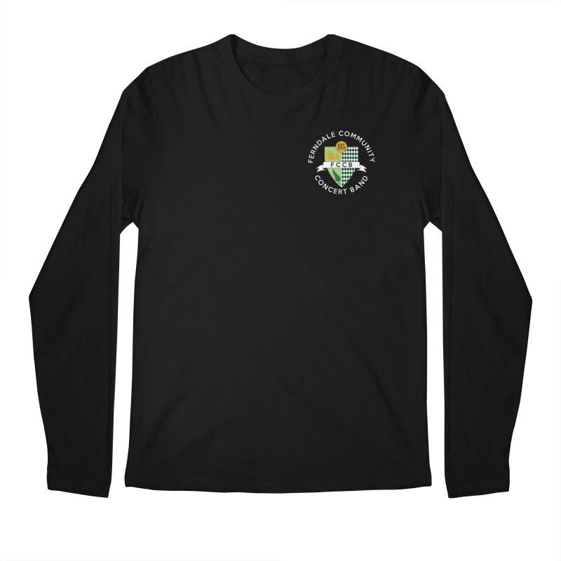 small crest- dark styles Men's Regular Longsleeve T-Shirt by FCConcertBand's Apparel Shop