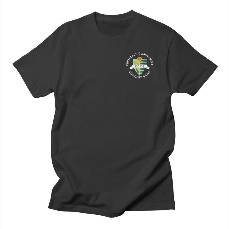 small crest- dark styles Women's Regular Unisex T-Shirt by FCConcertBand's Apparel Shop