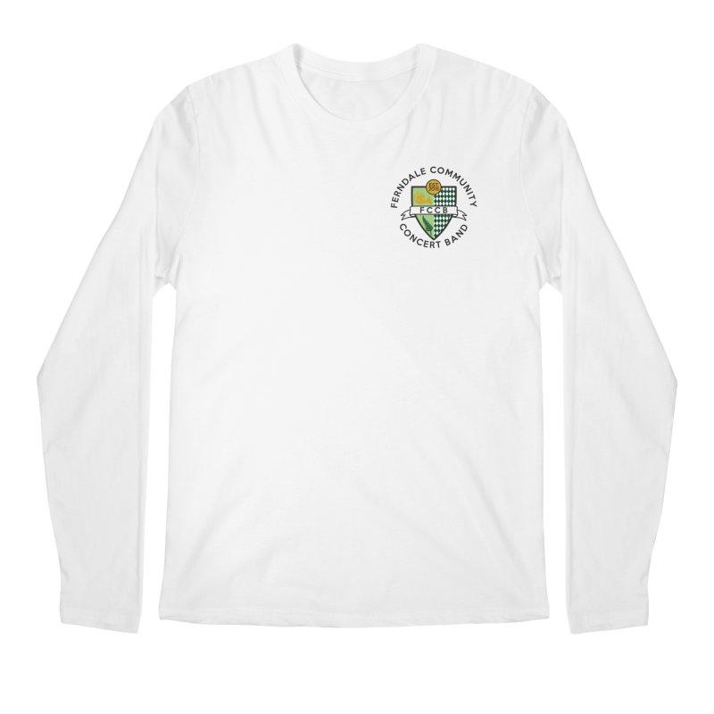 small crest- light styles Men's Regular Longsleeve T-Shirt by FCConcertBand's Apparel Shop