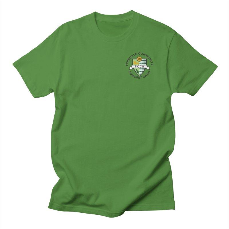 small crest- light styles Women's Regular Unisex T-Shirt by FCConcertBand's Apparel Shop