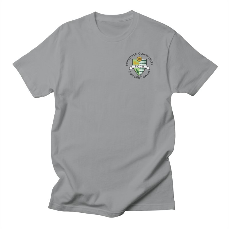 small crest- light styles Men's Regular T-Shirt by FCConcertBand's Apparel Shop