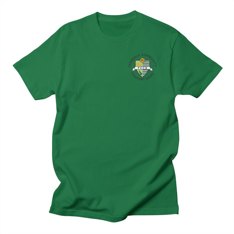 small crest- light styles Men's T-Shirt by FCConcertBand's Apparel Shop