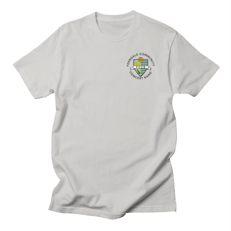 small crest- light styles Men's Regular T-Shirt by FCConcertBand's Apparel Shop
