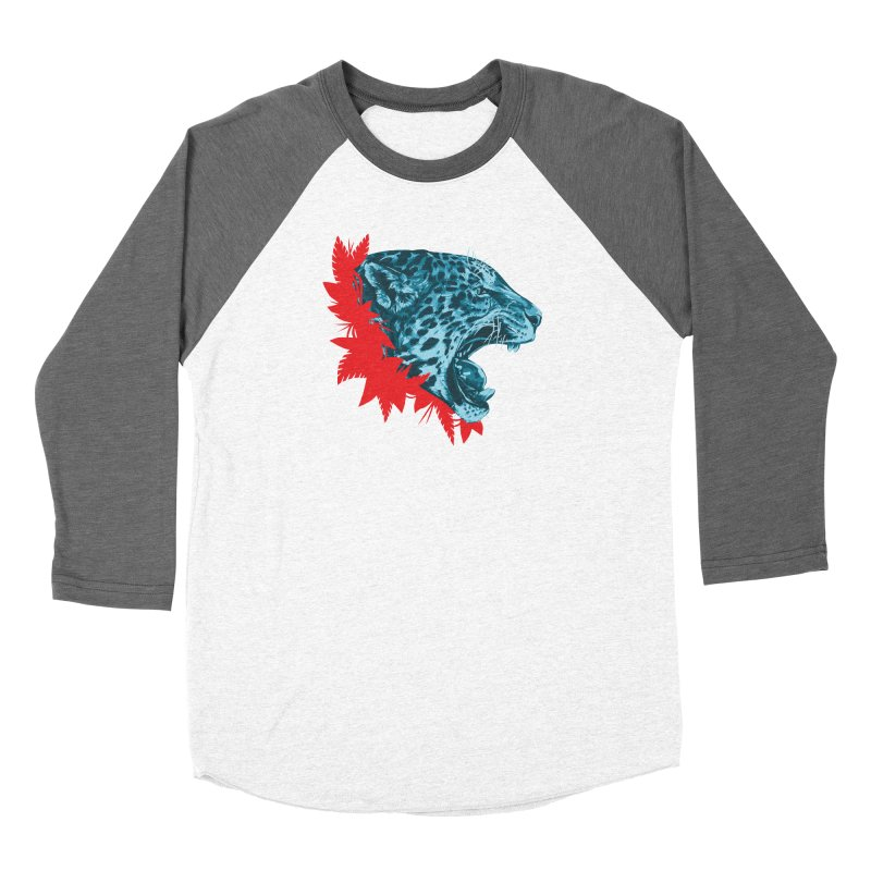 Alma Jaguar Women's Baseball Triblend Longsleeve T-Shirt by Fedz