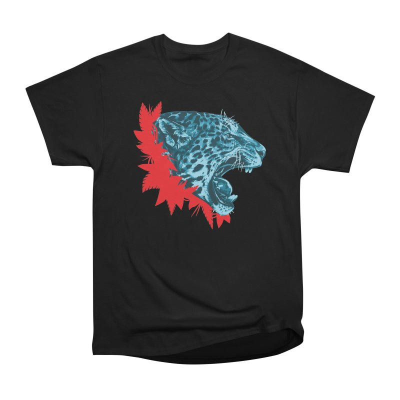 Alma Jaguar Women's Heavyweight Unisex T-Shirt by Fedz