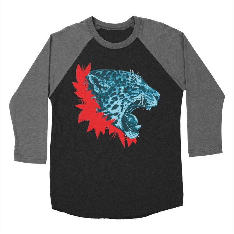 Alma Jaguar Men's Baseball Triblend Longsleeve T-Shirt by Fedz