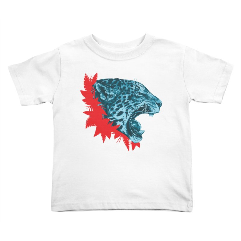 Alma Jaguar Kids Toddler T-Shirt by Fedz