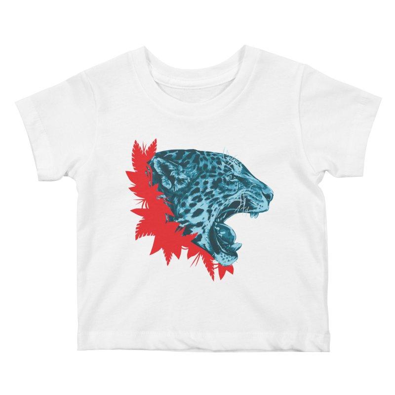 Alma Jaguar Kids Baby T-Shirt by Fedz