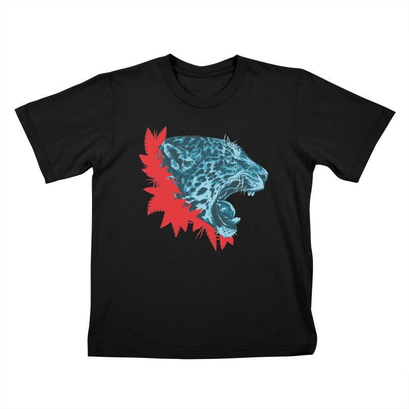 Alma Jaguar Kids T-Shirt by Fedz