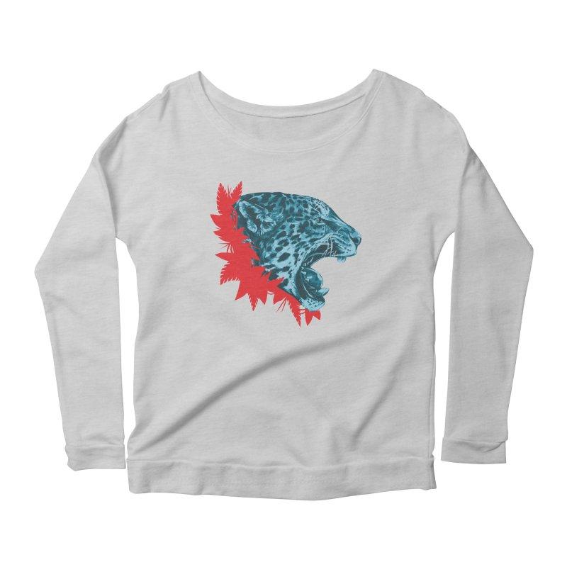 Alma Jaguar Women's Scoop Neck Longsleeve T-Shirt by Fedz