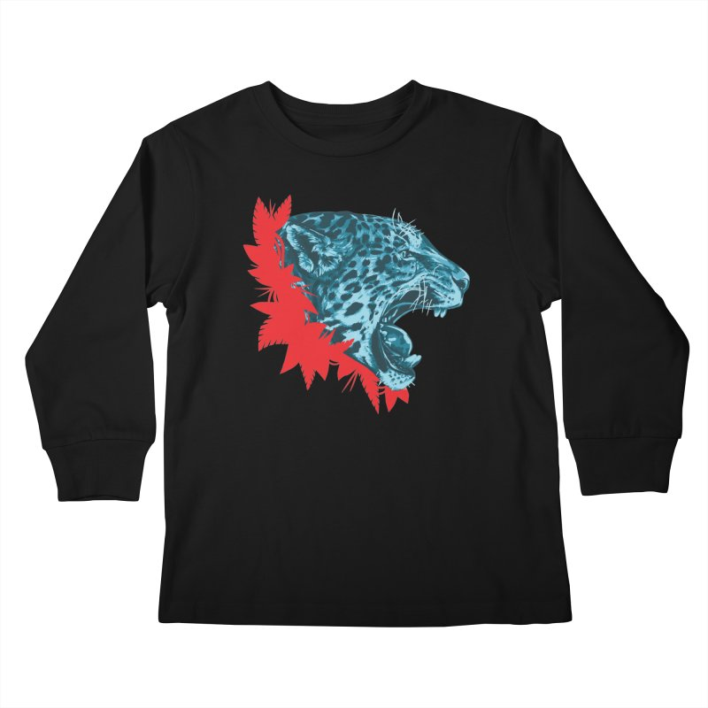 Alma Jaguar Kids Longsleeve T-Shirt by Fedz