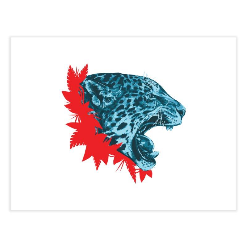 Alma Jaguar Home Fine Art Print by Fedz