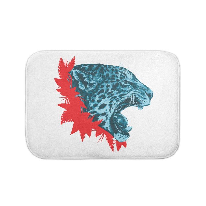 Alma Jaguar Home Bath Mat by Fedz