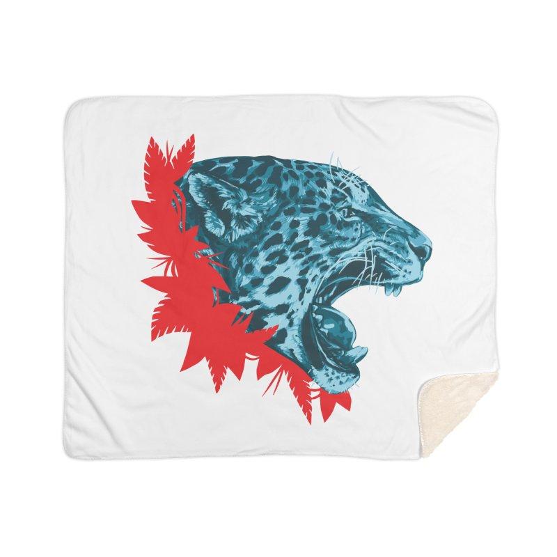Alma Jaguar Home Sherpa Blanket Blanket by Fedz