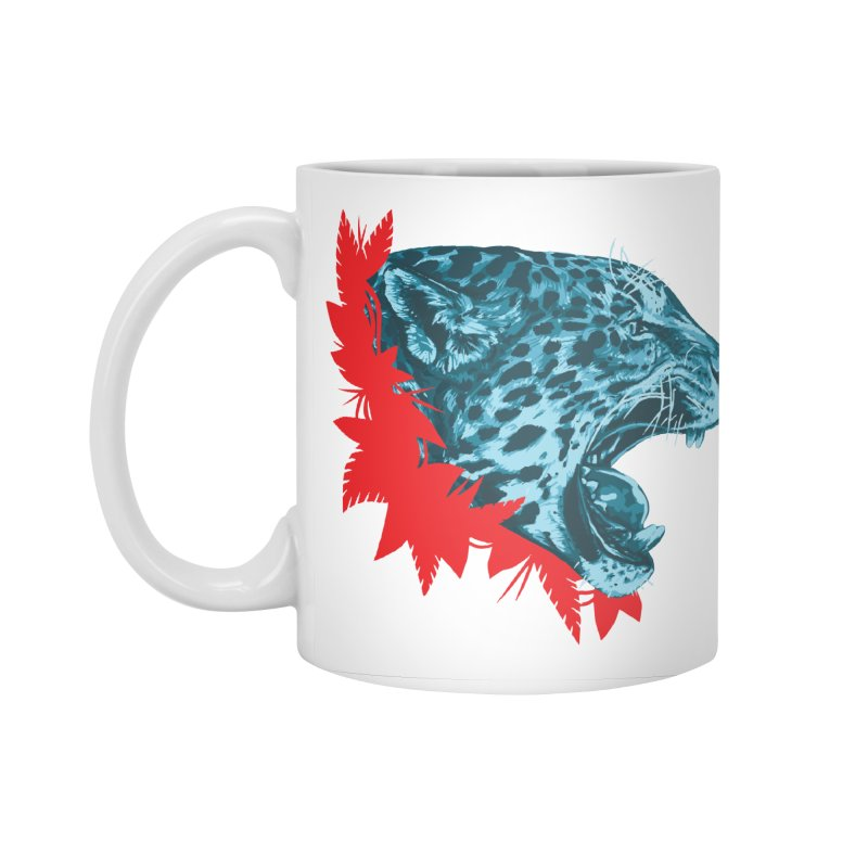 Alma Jaguar Accessories Standard Mug by Fedz