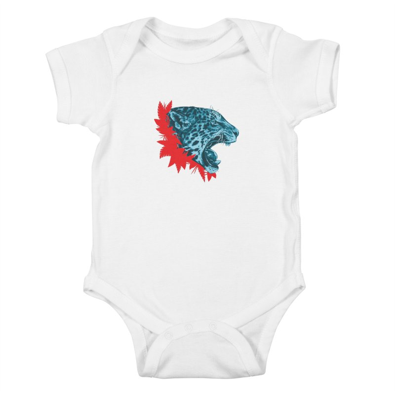 Alma Jaguar Kids Baby Bodysuit by Fedz