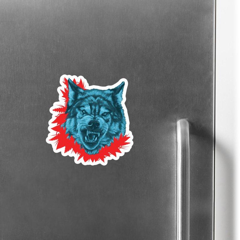 Sabio Lobo Accessories Magnet by Fedz